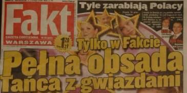 """Pełna obsada """"Tańca z gwiazdami"""""""